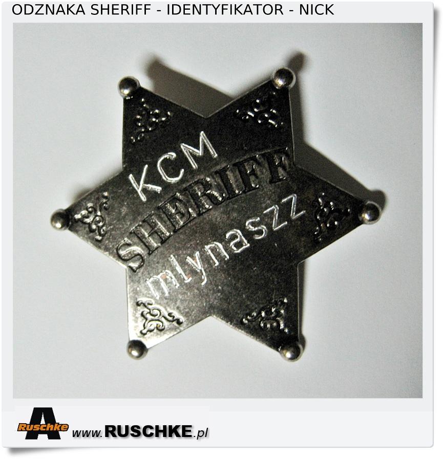 odznaka identyfikator służbowy